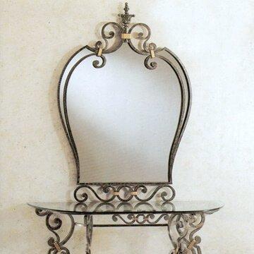 specchiere in ferro